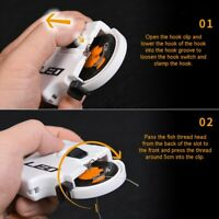 Portable Electric Automatic Fishing Hook Line Tying Fast Tie Fishing Tackle Tool
