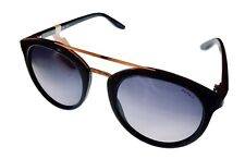 Esprit Womens Sunglass Black Round Fashion Plastic, Gradient Lens 39071 538