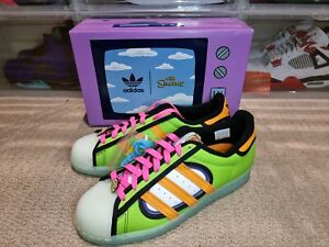 Adidas Superstar The Simpsons Squishee. Men's size 9. Brand new