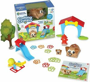 Learning Resources Coding Critters Ranger & Zip Interactive STEM Dog Pet Toy 4+