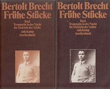 su- t 0201 Brecht : FRÜHE STÜCKE  a