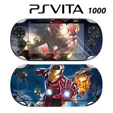 Vinyl Decal Skin Sticker for Sony PS Vita PSV 1000 Iron Man Superhero