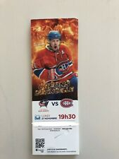 unused hockey tickets Montreal Canadiens 2017 season GALLAGHER