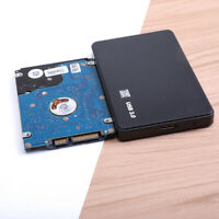 USB 3.0 1TB/2TB External Hard Drive Disk HDD 2.5'' For PC Laptop Black Portable