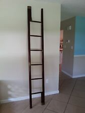 Rare 1800's Antique English Folding Library Ladder