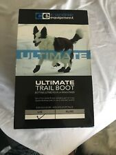 Canine Equipment Ultimate Trail Dog Boots, Black- Large