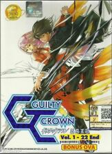 DVD Anime Guilty Crown ( TV 1-22 End ) + Bonus OVA + Free DVD