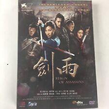 New listing Reign of Assassins Dvd Region 3 Mandarin Language Martial Arts Hong Kong New