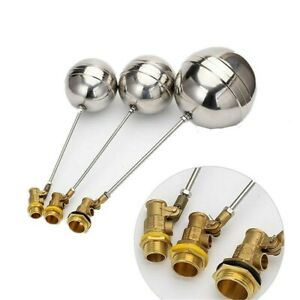 Brass Float Valve Cold and Hot Water Tank Floating Ball Irrigation Watering Tool