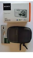 Sony DSC-W830 Cyber-shot 20.1MP 2.7-Inch LCD Digital Camera + Case