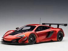 Autoart McLaren 650S GT3 1:18 Model Car Volcano Orange / Black Accents 81642