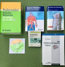 Medizin Bücher, Heilpraktiker Anwärter, Pschyrembel