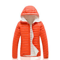 NWT Women's Winter Warm Puffer Duck Down Jacket Parka Casual Sport Hoodie Coat