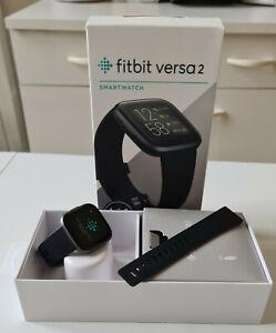 Fitbit Versa 2 traqueur d'activité - Noir/Carbone