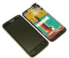 ORIGINALE Huawei Ascend u9500 LCD Display Touch Screen Digitizer QUADRO FRAME
