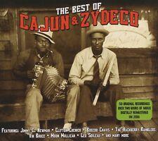 2 CD BOX BEST OF CAJUN & ZYDECO CHENIER CHAVIS HACKBERRY RAMBLERS BRUCE LEBLANC