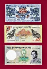 BHUTAN #27 2006 CRISP MINT  NGULTRUM BANKNOTE BILL NOTE CURRENCY MONEY