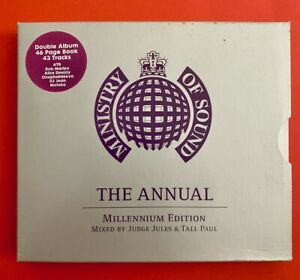 CD - MINISTRY OF SOUND / The Annual Millennium Edition - 1999 Ministry of Sound