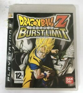 Dragon Ball Z Burst Limit Sony Playstation 3 PS3 Game FREE P&P