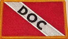 Doc Scuba Flag Iron-On Patch Morale Tactical Travel Emblem Version #17
