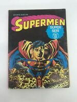 SUPERMAN #107 #108 - Foreign Comic Book - 1980s 80s - DC - ULTRA RARE - 4.0 VG