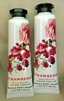 *New* STRAWBERRY Hand Cream 2-Pack  Bath & Body Works - Ships Free!!!