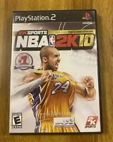 NBA 2K10 - PlayStation 2 - PS2 - Complete - Tested - Kobe Bryant - #24 - Lakers