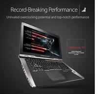 Ultimate Gaming Laptop: Core i7-7820HK/64GB/1.5TBSSD/GTX 1080 (16GB)/18.4 4K/UHD