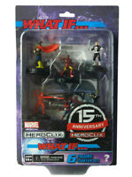 Marvel Heroclix What If? 15th Anniversary Starter Set 6-Figure 2-Maps Dice New