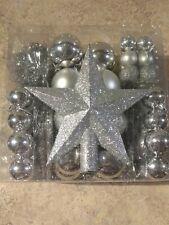 Christmas Tree Baubles Balls Decoration Ornament Shatterproof Garland Spine