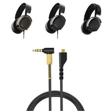 More details for audio headset cord for steelseries arctis 7 5 3 headphones 4.9ft cable pro