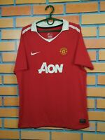 Manchester United Jersey 2010 2011 Home Kids Boys 13-15 y Shirt Nike 382459-623