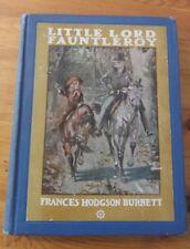 Little Lord Fauntleroy  by Frances Hodgson Burnett (1933)
