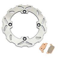 Rear Brake Disc Rotor Pads For Honda CR125 CR250 CR250R 89-96 CR500 CR500R 89-01