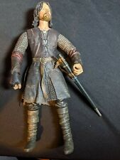 "Lord Of The Rings Action Figure Aragorn 12"" Lotr 2003"
