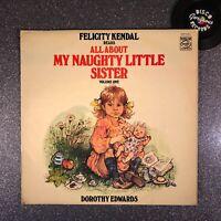 FELICITY KENDAL—MY NAUGHTY LITTLE SISTER [Vinyl LP] MFP50410 (VG/EX-)