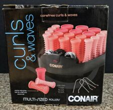Women's Conair Curls & Waves Compact Multi-Size Hot Hair Rollers Curler  Pink