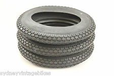 """3 x PRAM Tires - 12-1/2"""" x 2-1/4"""" INCH KNOBBY JOGGER STROLLER SCOOTER TYRES SYD"""