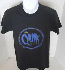 QUIKSILVER Men's Black Mutiny Logo Tee Shirt Size S