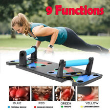 9 in 1 Body Building Push Up Rack Fitness Machine Training Home Equipment Unisex