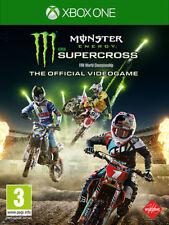 Monster Energy Supercross Motocross (Guida / Racing) XBOX ONE MILESTONE