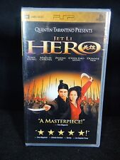 QUENTIN TARANTINO PRESENTS HERO WITH JET LI PSP UMD VIDEO **NEW**