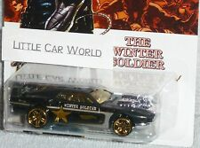 HOT WHEELS Captain America Rivited The Winter Soldier Black #5/8 NEW