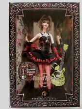 Hard Rock Cafe Barbie Doll (Gold Label) (Sixth in Series) (NEW)