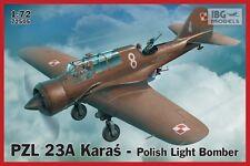 PZL 23 A KARAS (AVION DE BORBANDEMENT POLONAISE) #505 1/72 IBG NOVEAUTE!