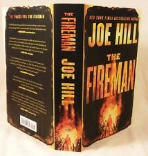 THE FIREMAN, Joe Hill,  SIGNED (title page in gold ink), 1st/1st, New