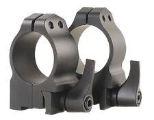 """Warne 1R7M Ruger Ring Set 1"""" Dia Medium M77/Hawkeye/Super Redhawk Fixed Steel"""