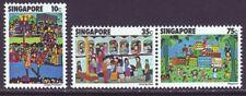 Singapore 1977 SC 285-287 MNH Set Children Art