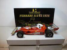 TWIN CRONO FERRARI 312 T2 1976 #2 CLAY REGAZZONI - F1 RED 1:18 - EXTREMELY RARE