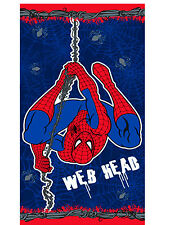 MARVEL SPIDER-MAN SENSE WEB HEAD BOYS CHILDRENS BEACH BATH TOWEL / SWIMMING
